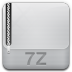 72x72px size png icon of archive 7z