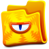 72x72px size png icon of yellow folder