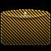 72x72px size png icon of Folder Pattern Stripes Warning