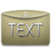 72x72px size png icon of Folder Text