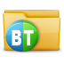 72x72px size png icon of Folder Torrent