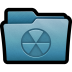 72x72px size png icon of Folder Burnable