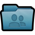 72x72px size png icon of Folder Share