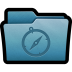 72x72px size png icon of Folder Sites