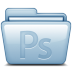 72x72px size png icon of Blue Adobe Photoshop