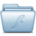 72x72px size png icon of Blue Flash