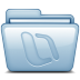 72x72px size png icon of Blue Microsoft Office