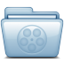 72x72px size png icon of Blue Movies