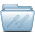 72x72px size png icon of Blue Utilities