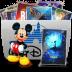 72x72px size png icon of Folder TV Disney