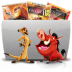 72x72px size png icon of Folder TV Lion