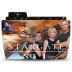 72x72px size png icon of Folder TV STARGATE