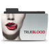 72x72px size png icon of Folder TV TRUEBLOOD