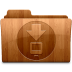 72x72px size png icon of Glossy Downloads