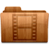72x72px size png icon of Glossy Movies