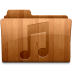 72x72px size png icon of Glossy Music