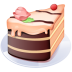 72x72px size png icon of Piece of cake