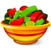 72x72px size png icon of Salad