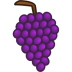 72x72px size png icon of grapes