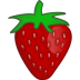 72x72px size png icon of strawberry