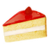 72x72px size png icon of strawberry cake