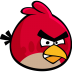 72x72px size png icon of angry bird