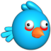 72x72px size png icon of Bird blue