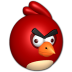 72x72px size png icon of Bird red