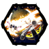 72x72px size png icon of Angry Birds Star Wars 3