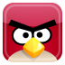 72x72px size png icon of red bird