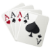 72x72px size png icon of 4 aces
