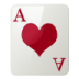 72x72px size png icon of Ace of Hearts