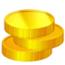 72x72px size png icon of Coins