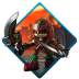 72x72px size png icon of sonic black knight