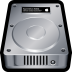 72x72px size png icon of Device Hard Drive Mac
