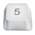 72x72px size png icon of 5