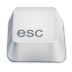 72x72px size png icon of esc