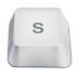 72x72px size png icon of letter s