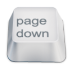 72x72px size png icon of page down