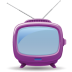 72x72px size png icon of television 04