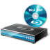 72x72px size png icon of BluRay Player Disc