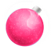72x72px size png icon of Christmas ball pink