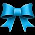 72x72px size png icon of Ribbon Blue Pattern
