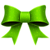 72x72px size png icon of Ribbon Green Pattern