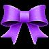 72x72px size png icon of Ribbon Purple Pattern