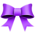 72x72px size png icon of Ribbon Purple