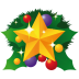 72x72px size png icon of christmas star