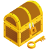72x72px size png icon of treasure chest