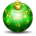 72x72px size png icon of christmas tree ball 2