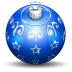 72x72px size png icon of christmas tree ball 3